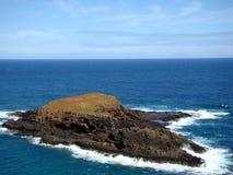 Kīlauea punktu Krajowy rezerwat dzikiej przyrody, Kauai, CZEŚĆ Obrazy Royalty Free