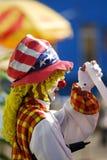 klaun Zdjęcia Royalty Free
