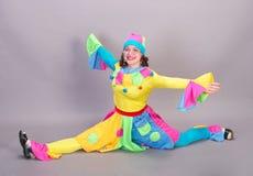 klaun Obraz Royalty Free