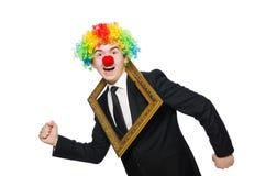 klaun Obrazy Royalty Free