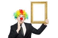 klaun Obraz Stock