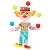 klaun Zdjęcie Stock