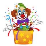 klaun Zdjęcie Royalty Free