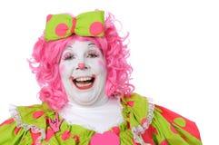 klauna śmiać Zdjęcie Royalty Free