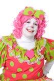 klauna, uśmiecha się Zdjęcia Royalty Free