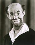 klauna, uśmiecha się Zdjęcie Stock