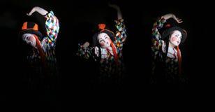 klauni Obrazy Royalty Free