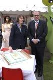 Klaus Bondam Lord mayor and Jacqueline McGolde Stock Photos