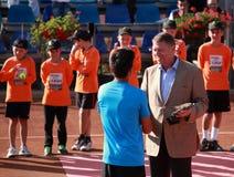 Klaus Iohannis Foto de Stock