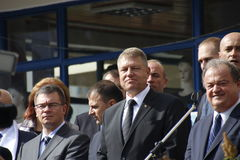 Klaus Iohannis Stock Photo