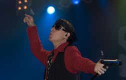 Klaus Meine The Scorpions Stock Image