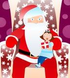klaus Santa royalty ilustracja