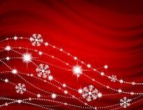 klaus santa för frost för påsekortjul sky Royaltyfri Foto