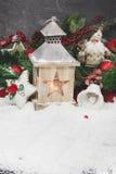 klaus santa för frost för påsekortjul sky Royaltyfria Bilder