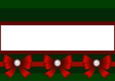 klaus santa för frost för påsekortjul sky Julpynt med den röda pilbågen Royaltyfri Fotografi