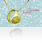 klaus santa för frost för påsekortjul sky Smyckenjul stock illustrationer