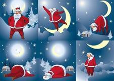 klaus ulepszenie Santa Zdjęcia Royalty Free