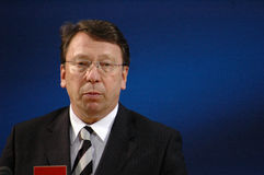 Klaus-Uwe Benneter Royalty Free Stock Photos