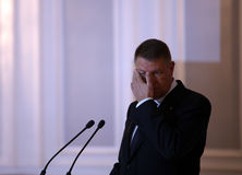 Klaus Werner Iohannis Стоковое Фото