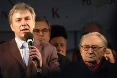Klaus Wowereit, Egon Bahr Lizenzfreies Stockfoto