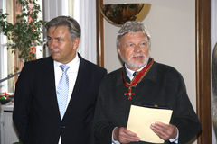 Klaus Wowereit, Hardy Krueger Stock Photos