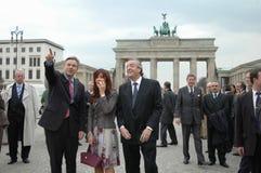 Klaus Wowereit, Kirchner Royalty Free Stock Photo