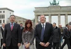 Klaus Wowereit, Kirchner Royalty Free Stock Image