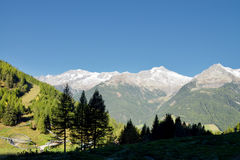 Klausberg, Ahrntal, alt Adige, Włochy Fotografia Stock