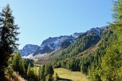 Klausberg Ahrntal, Trentino-alt Adige, Italien Arkivfoton