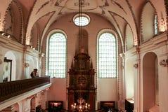 Klausen犹太教堂 图库摄影