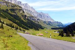 Klausen Pass Royalty Free Stock Image