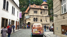 Klausen Synagogue in Prague Jewish quarter Stock Photography