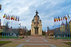 Klausenburg-Napoca stockbild