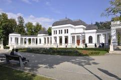 Klausenburg-Napoca RO, am 24. September: Central Park-Kasino-Gebäude in Klausenburg-Napoca von Siebenbürgen-Region in Rumänien Lizenzfreie Stockfotografie