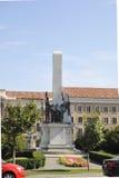 Klausenburg-Napoca RO, am 24. September: Monument des Ruhmes zum rumänischen Soldaten in Klausenburg-Napoca von Siebenbürgen-Regi Stockbilder