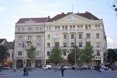 Klausenburg-Napoca RO, am 24. September: Sebestyen-Haus in Klausenburg-Napoca von Siebenbürgen-Region in Rumänien Stockfotos