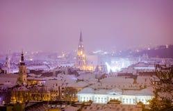 Klausenburg Napoca in Siebenbürgen-Region von Rumänien Lizenzfreies Stockbild