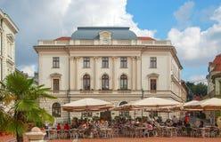 Klauzal Squarre - Szeged, Hungría Fotos de archivo libres de regalías