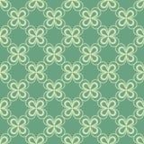 Klaverbehang St Patrick s dagachtergrond Naadloos patroon vector illustratie