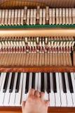 Klavier Stockfoto
