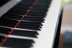 Klavier befestigt Nahaufnahme stockfotos