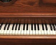 Klavier der alten Art Stockfotografie