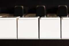 Klavier, eine Fotoaufnahme für den internationalen Musiktag Stockfotos