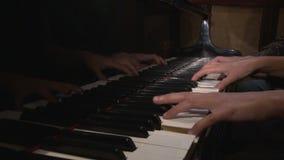 Klavier 2 stock footage