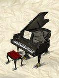 Klavier-Malerei-Bild vektor abbildung