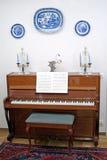 Klavier-Raum Lizenzfreie Stockfotos