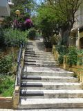 Klavier-Schritte in Athen, Griechenland lizenzfreies stockfoto