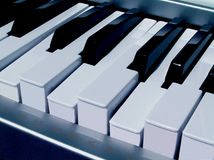 Klavier-Spannweite stockfoto