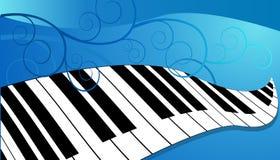 Klavier-Tastatur stock abbildung