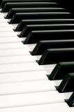 Klavier-Tastatur Stockbilder